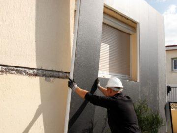 Revêtement et isolation de façade